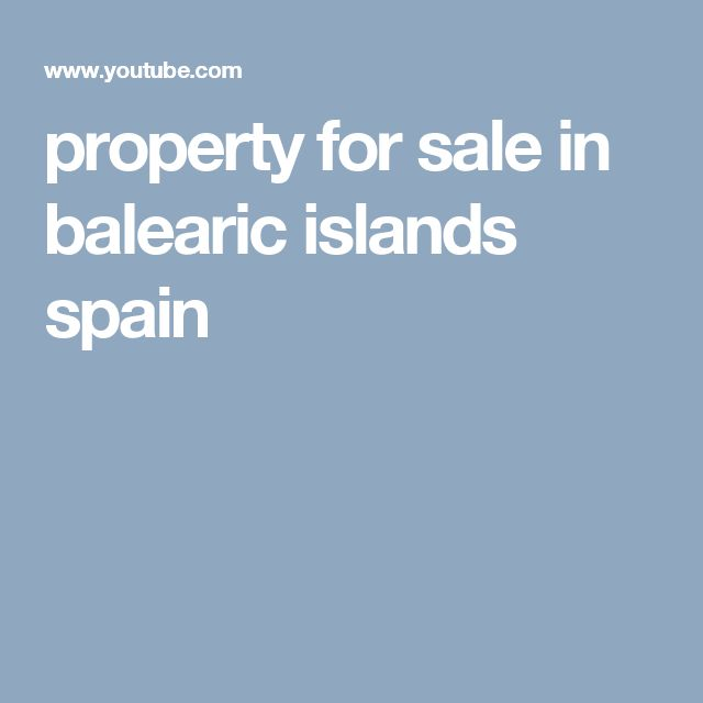 property for sale in balearic islands spain