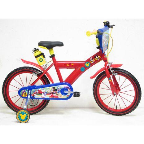 """Vehicule pentru copii :: Biciclete si accesorii :: Biciclete :: Bicicleta Mickey Mouse 16"""" Denver"""