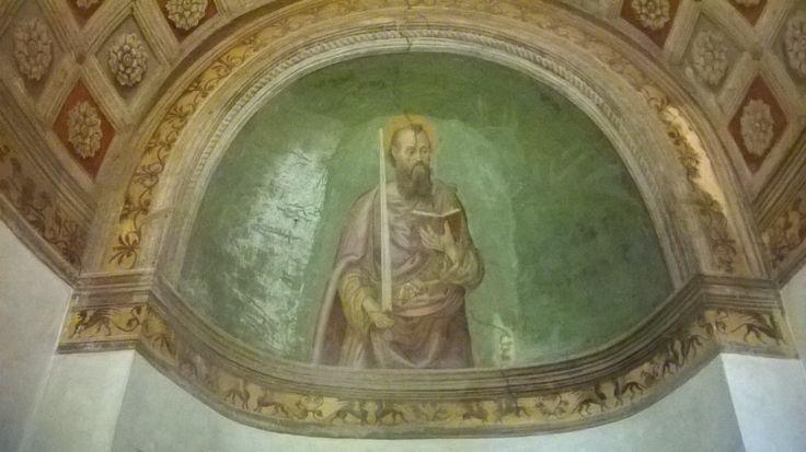 Affresco, Basilica di San Paolo, #Roma
