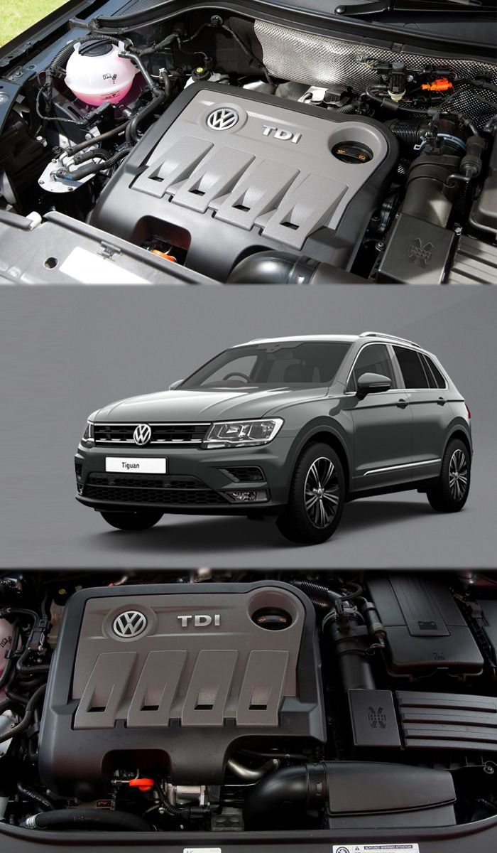volkswagen tiguan offers the 1 6 and 2 0 litre diesel engines for