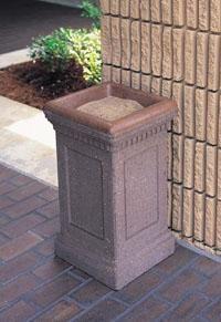 Concrete Outdoor Ashtray TF2036