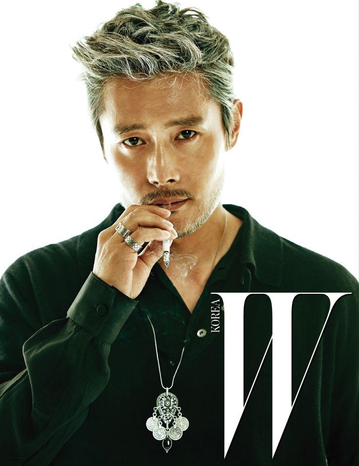 Lee Byung Hun - W Magazine January Issue '17