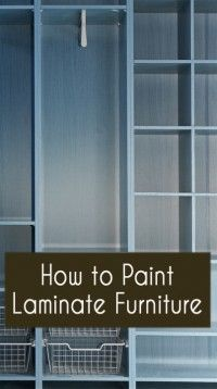 How to Paint Furniture - Flow Chart