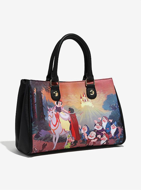 Loungefly Disney Snow White 80th Anniversary Handbag Boxlunch Exclusive