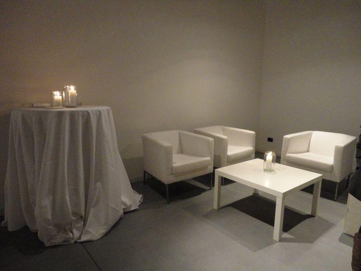 Sala del Cavedio - angolo total white