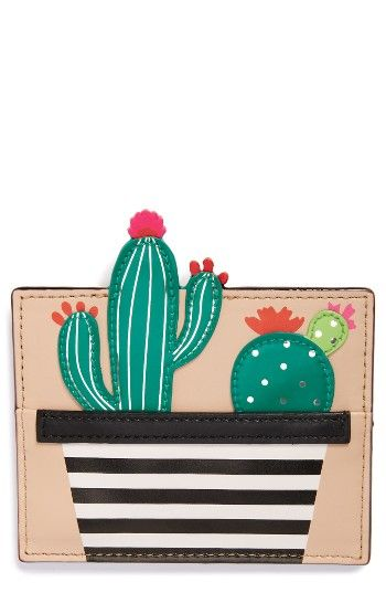 Free shipping and returns on kate spade new york scenic route cactus card holder at Nordstrom.com. This succulent little card holder crafted from supple leather will add sharp style to your everyday look.
