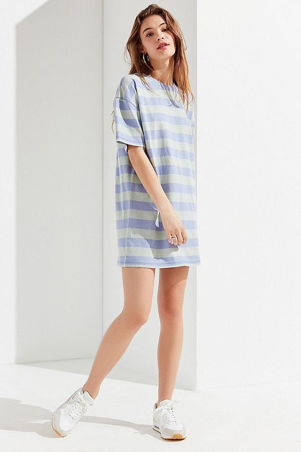 a2b6961432 Slide View  3  UO Sydney Striped T-Shirt Dress