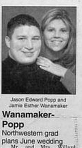 Wanamaker - Popp  funny wedding announcements | Funny Wedding Announcements