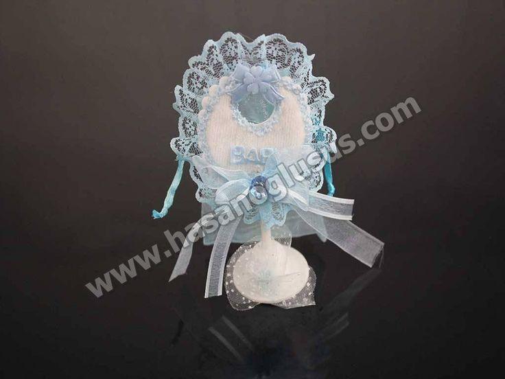 Erkek Bebek Şekerleri, Mavi Önlük Bebek Şekeri