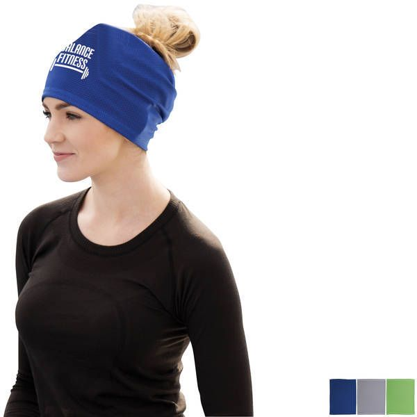 Deluxe Cooling Headwrap Trade Show Giveaways Head Wraps