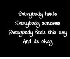 avril lavigne, lyrics, everybody hurts
