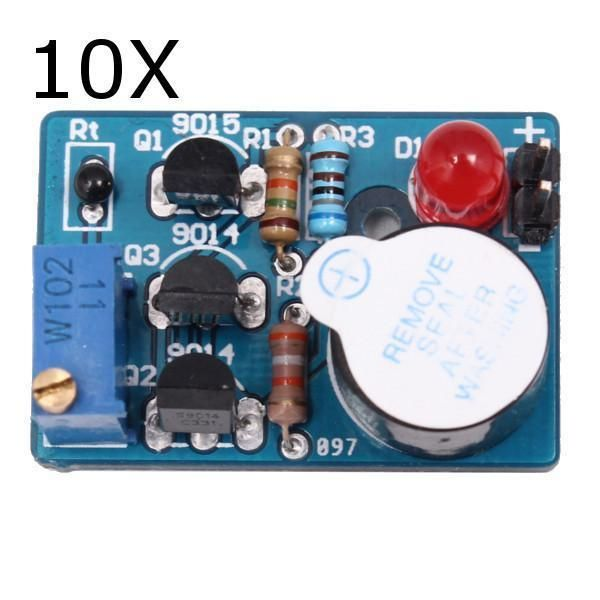 The 25 best electronic circuit ideas on pinterest electronic 10pcs temperature control sound light alarm kit dc3 5v electronic circuit diy tr solutioingenieria Images