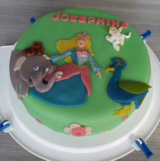 Barbie Eiland prinses taart