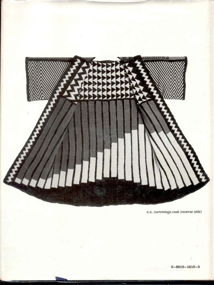 Machine knitting pattern