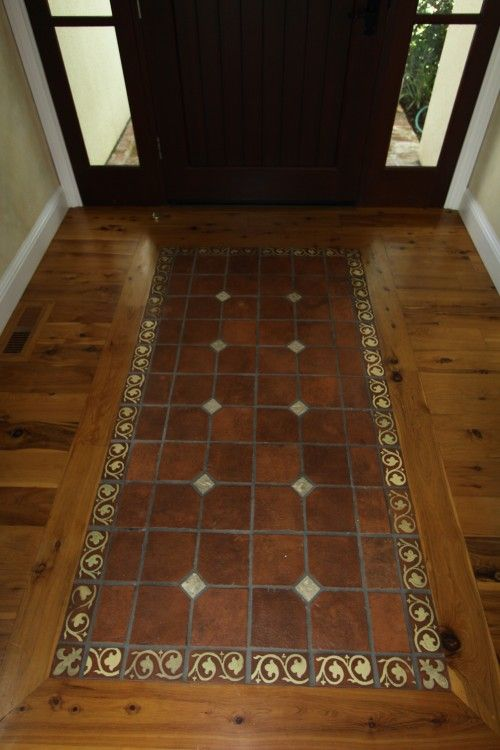 Foyer Tile Inlays : Best tile rug inlays images on pinterest floors