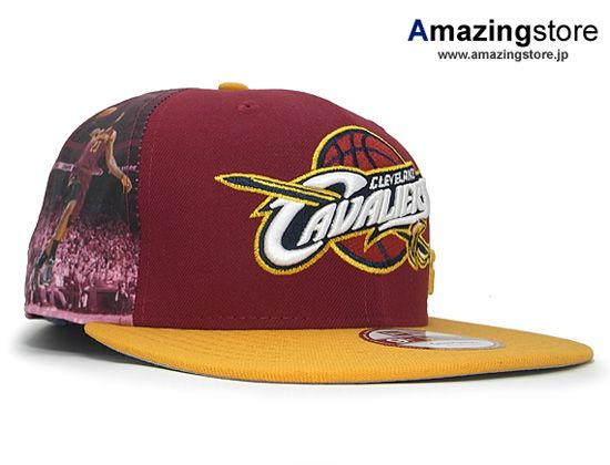 Cleveland Cavaliers Player Twist Snapback Cap by NBA x NEW ERA
