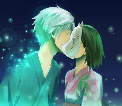 Aren't we all just hiding behind a cat mask while silver haired boys kiss us with sparkles in our midst. I have yet to see a better metaphor for the conflicts I've faced and have yet to confront.