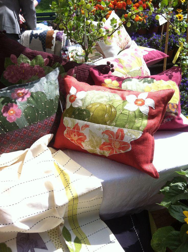 fun flower pillows
