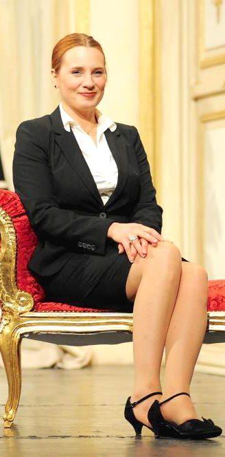 Vanessa Guedj as Angharad - Kaamelott, seasons 1, 2, 3 & 4