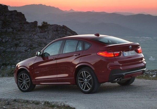 2015 BMW X4 Rear Angular 600x419 2015 BMW X4 Full Review, Features with Images