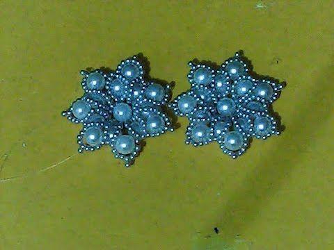 Flor de pérolas para decorar sandálias, tiaras, laços de cabelo e outras decorações. inscreva-se no meu canal https://www.youtube.com/channel/UCzA--UAGSdyftBKqVNYrsJg blog http://arttecomamordiy.blogspot.com.br/