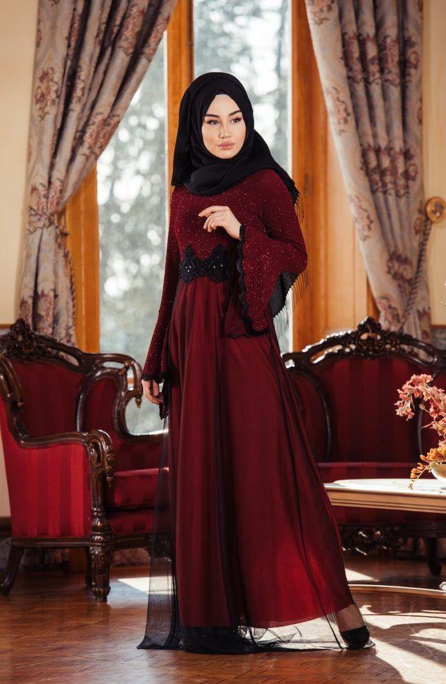 e39aafd3ff7cc 2018 Sefamerve Elbise Modelleri | Tesettür Abiye Elbiseleri -Tesettür Giyim