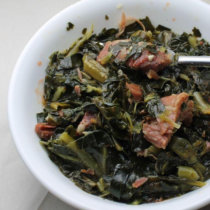 Collard Greens with Smoked Turkey Leg Recipe on Food52 recipe on Food52