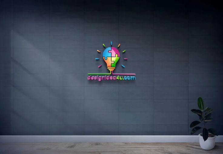 New 3d Glass Window Logo Mockup Psd Free Download In 2021 Free Logo Mockup Psd Mockup Free Psd Logo Mockups Psd