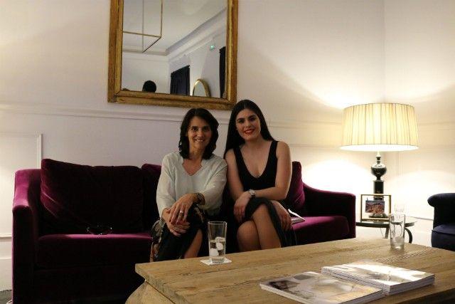 Marta Riopérez with a representative from BRABBU at Moongata Design Awards 2017 ➤ Discover more luxury lifestyle news at www.covetedition.com @covetedition #covetedmagazine @covetedmagazine #luxurylifestyle #moongata @brabbu @iedmadrid