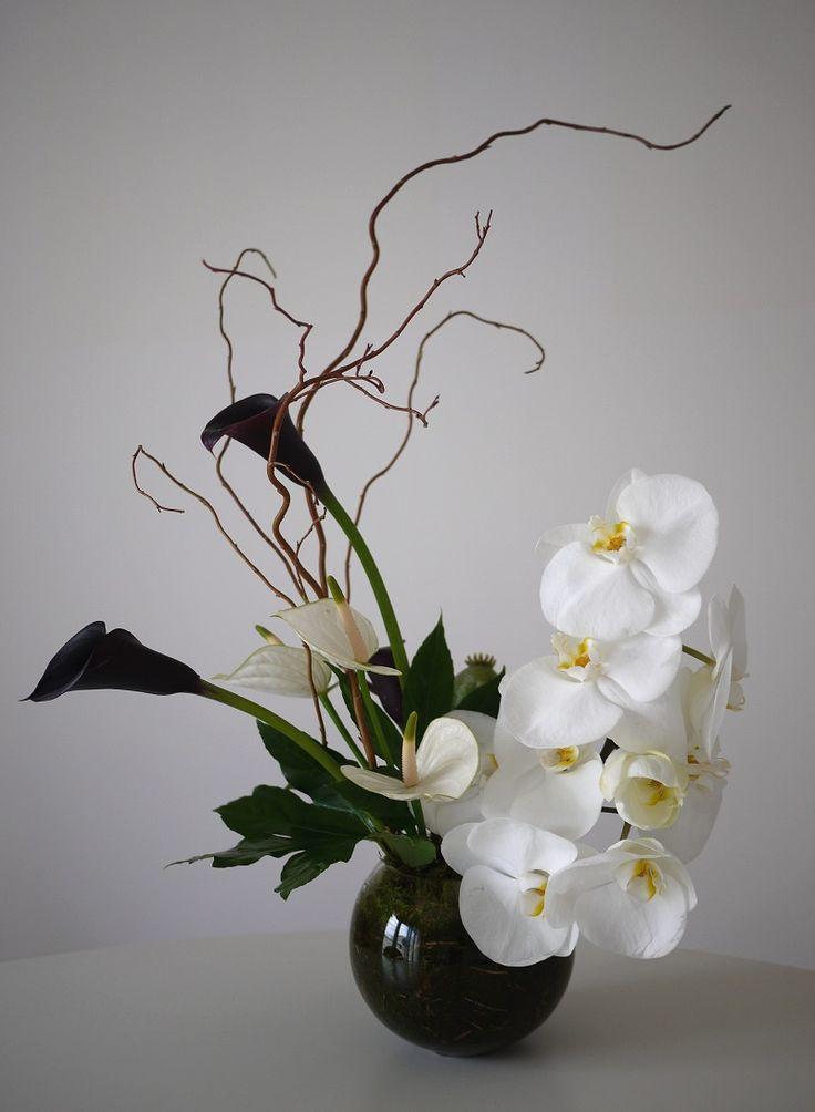 1000 id es sur le th me compositions florales modernes sur for Composition florale exterieur hiver