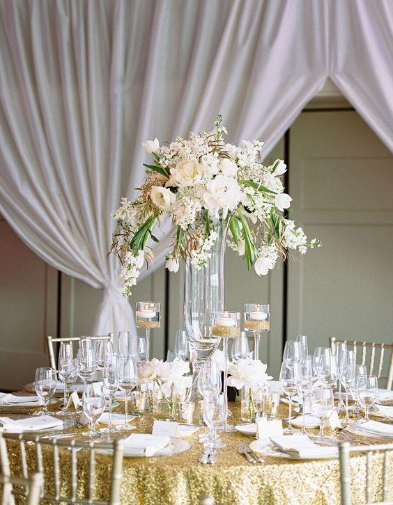 Wedding centerpiece idea; Featured photographer: Landon Jacob  Great decor. Adding it to our wedding centerpiece ideas board!