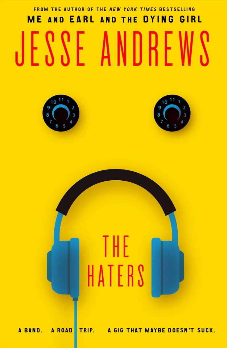 See The Cover For Jesse Andrews' New Book, 'the Haters'  Exclusive