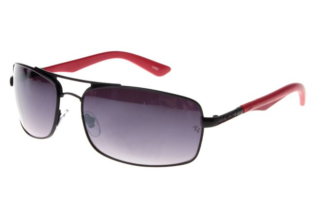 Ray Ban Active Lifestyle RB3460 Sunglasses Red/Black Frame