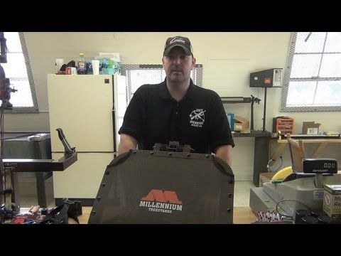 Season 2, Webisode 3 - Millennium Treestand's M50 Lock on Review: In this webisode, watch Jimmy give a review of the Millennium M50 lock on stand.