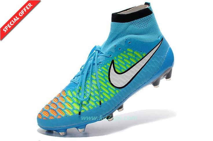 Mens Blue ACC Nike Magista Obra FG Outlt Black Friday