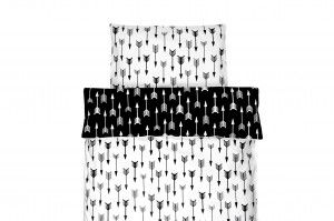 Double sided duvet set with arrows print... for little explorers;)