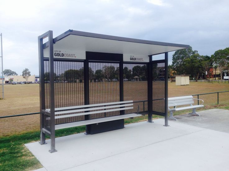 New bus shelter as requested by the local residents - on the western side of Paul Scanlan Oval