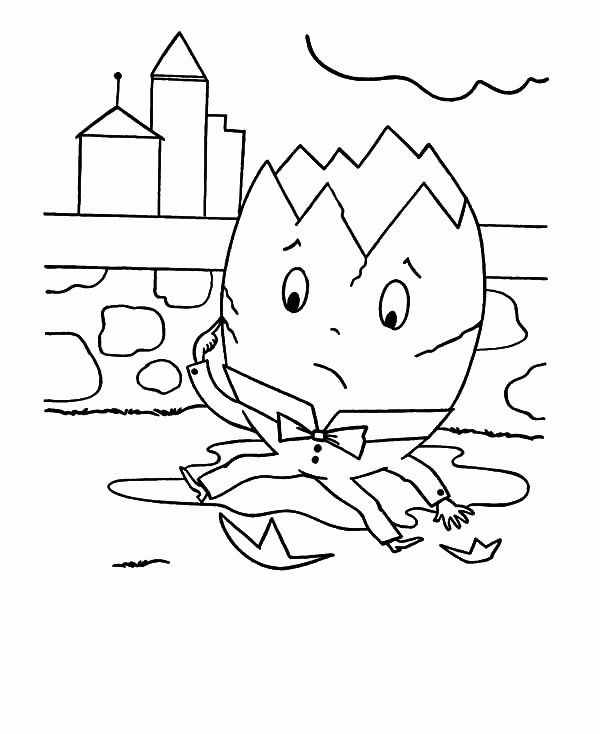 24 Humpty Dumpty Coloring Page Coloring Pages Humpty Dumpty