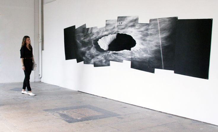 Check out French artist Caroline Corbasson's large... - Exhibition-ism