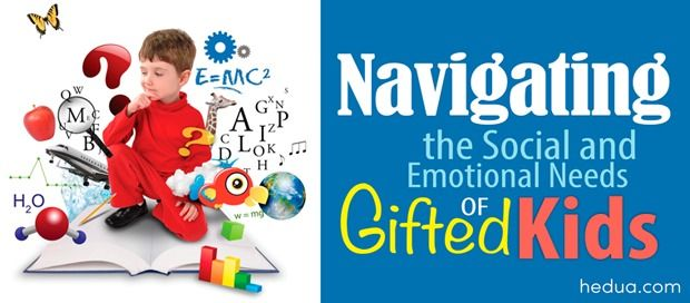 Gifted children have characteristics that can often cause them to struggle socially and emotionally.
