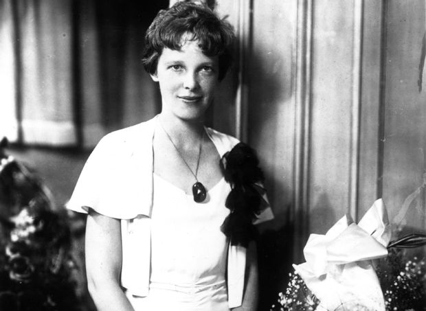 an analysis of the amelia earhart on the topic of kansas