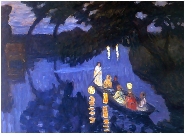 Painting by Otto Modersohn