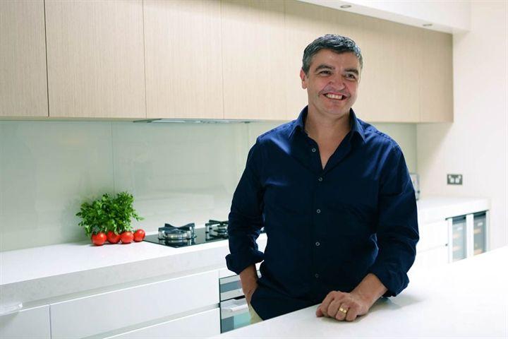 Celebrity Chef Sean Connolly's Grand Caesarstone Kitchen