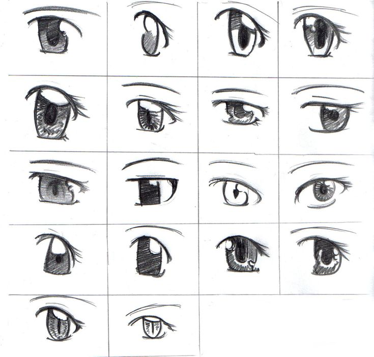 207 best Eye reference images on Pinterest | Manga drawing ...