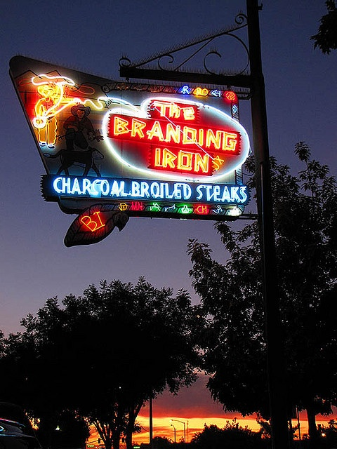 The Branding Iron..... Merced, California