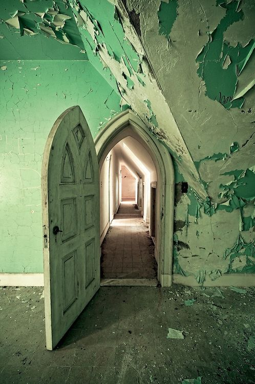 The Abandoned Castle -how wonderful would it be to get to run around with a friend and explore, seeking out all of the home's secrets...perhaps even a painting or a wardrobe to fall through into a different world, though I'm really pulling for Narnia!
