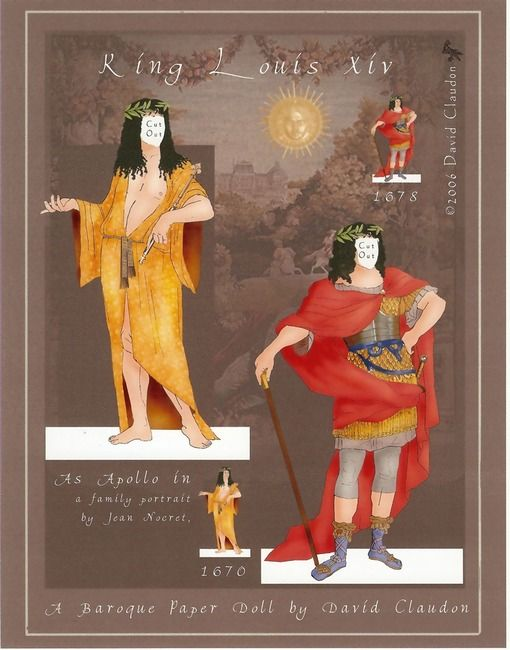 Louis XIV, the Sun King 03   C. David Claudon