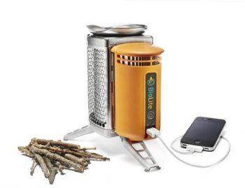Gifts for Hunters Biolite Wood Burning Camp Stove Power Source