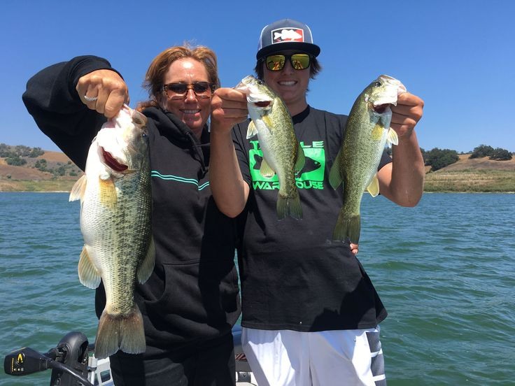 Lake Casitas Bass Fishing Guide Service - 07/01/2017 - Really nice day today at Lake Casitas in Ventura California. We started the first day of July with lots of fish on topwater lures. This morning we had seven or eight fish on topwater before 11 AM! Beautiful cool temperatures and really fun watching fish explode on the surface. We had trips all throughout the day and these are just a few of bass that our clients caught. The clients have big smiles with this exciting fishing. Got a big…