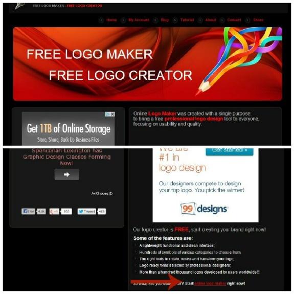 Online Logo Maker Review Logo maker, Online logo, Logo